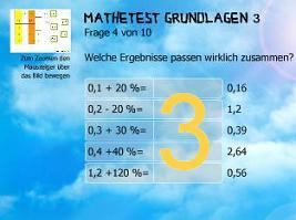Mathetest Grundlagen 3