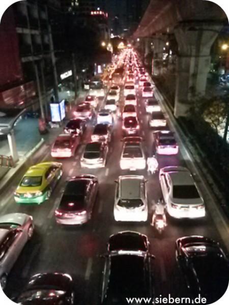 Bangkok Stadt Verkehr